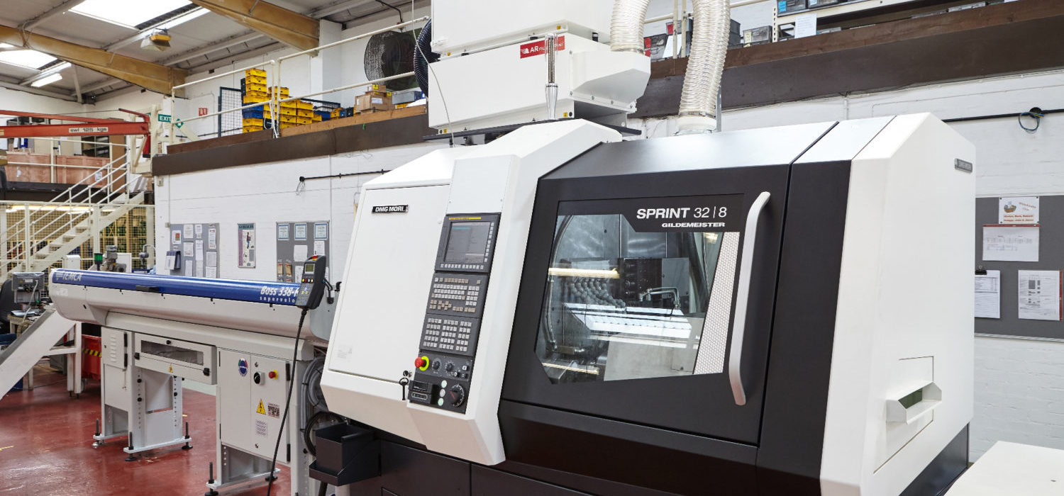 Camloc new CNC Lathe machine 06.11.17 1500x700 - We have invested in a new CNC Lathe to enhance production capability and flexibility for future product development