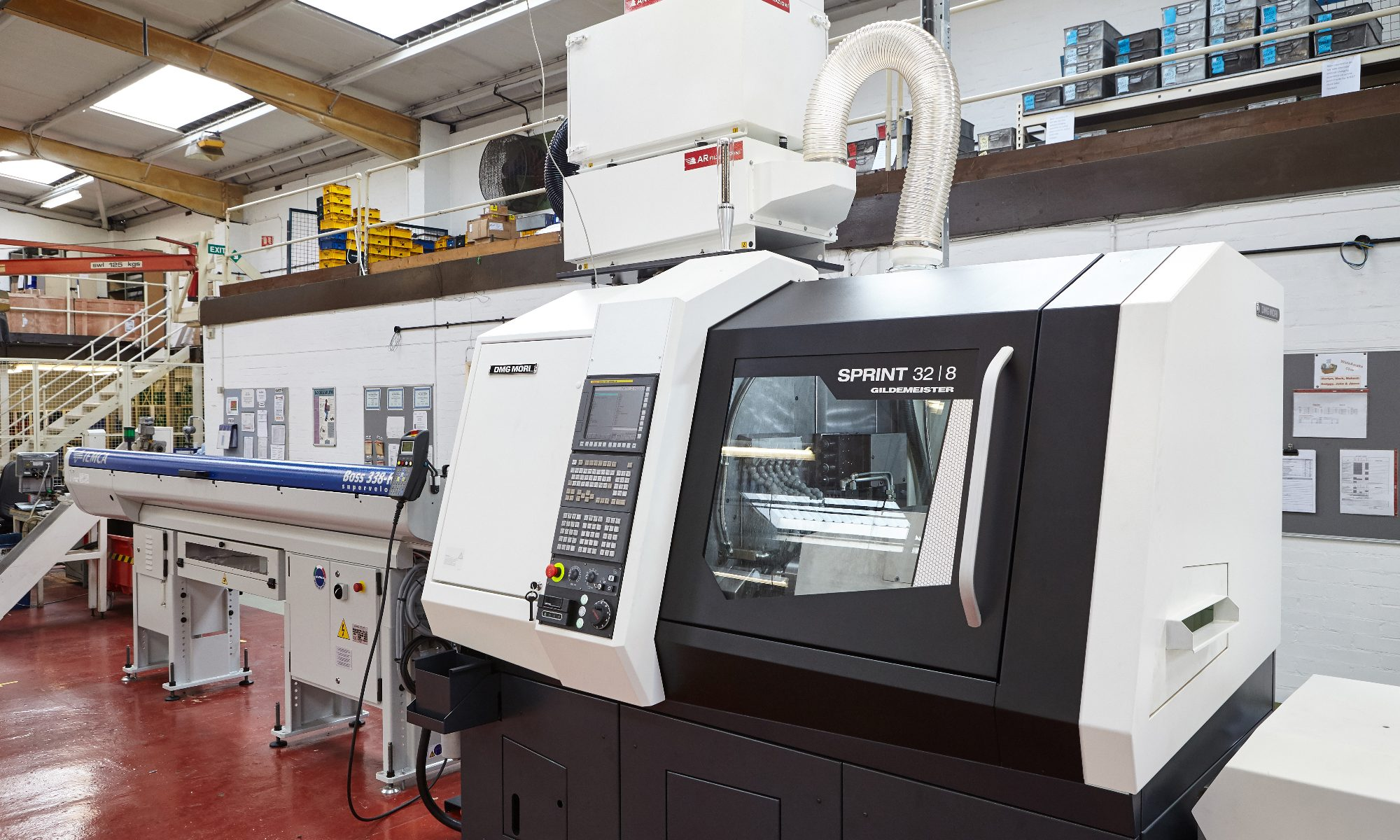 Camloc new CNC Lathe machine 06.11.17 2000x1200 - We have invested in a new CNC Lathe to enhance production capability and flexibility for future product development