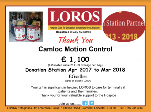 Screen Shot 2018 11 22 at 09.40.51 300x222 - A thank you from LOROS following five years of donations from Camloc!