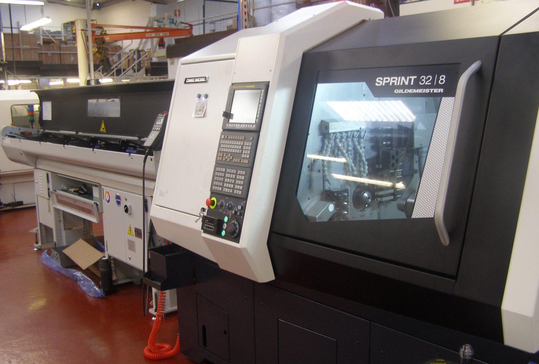 Gildmeister Sprint 32 | 8 machine on factory floor
