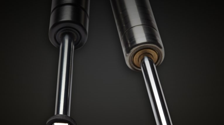 Carbon and Stainless Steel Blocklift locking gas struts manufactured by Camloc